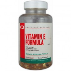 Vitamin E Formula By Universal Nutrition, 400 IU 100 Softgels