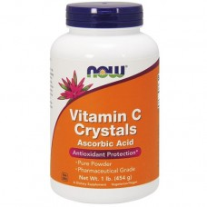 NOW, Vitamin C Crystals, Ascorbic Acid, 1 lb